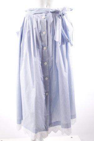 Dirndl Skirt blue-white