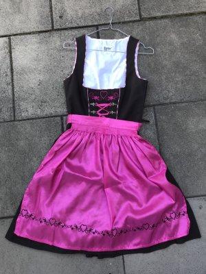 Dirndl rosa/pink braun