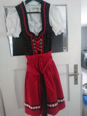 Landhaus by C&A Dirndl black-neon red