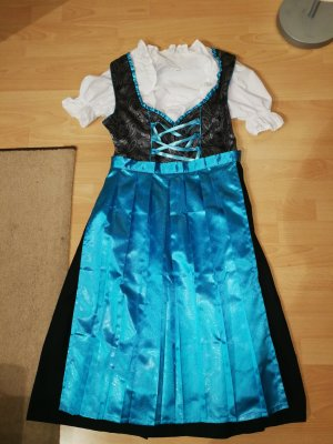 Vestido Dirndl turquesa