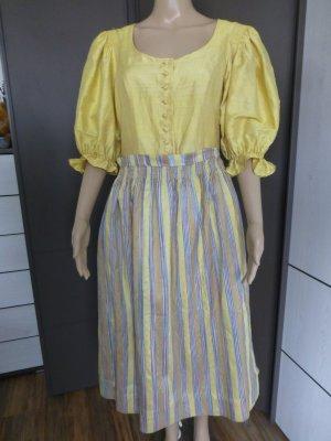 Sportalm Vestido Dirndl amarillo oscuro Seda