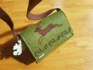 Mini Bag brown-forest green