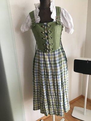 Dirndl Trachten Kleid Gr 36