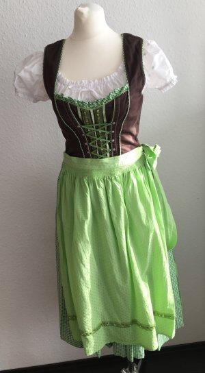 Dirndl Trachten Kleid Spieth & Wensky Gr. 36