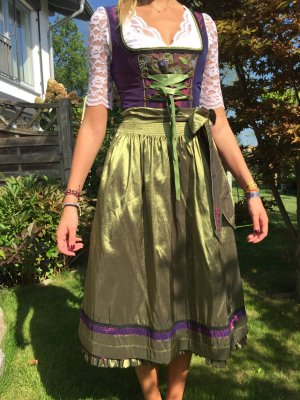 Angermaier Dirndl multicolore
