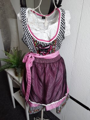 Hailys Dirndl black-pink