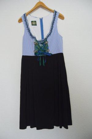 Hammerschmid Vestido negro-azul acero