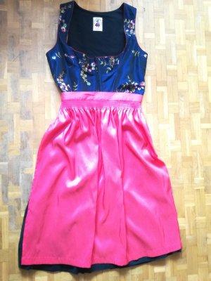Dirndl von Salzburger Dirndl Look, Trachtenkleid, Kleid mit Schürze