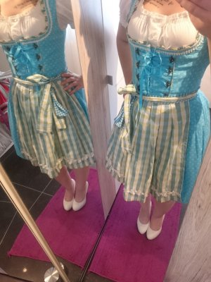 Stockerpoint Dirndl white-turquoise