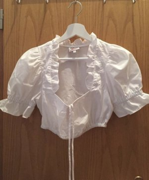 Country Line Traditional Blouse white