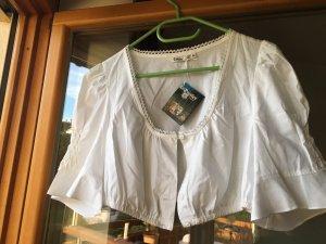 Distler Folkloristische blouse wit
