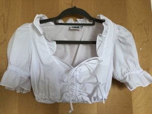 Country Line Folkloristische blouse wit