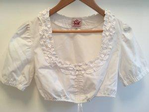 Spieth & Wensky Folkloristische blouse wit