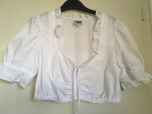 Country Line Traditional Blouse white mixture fibre