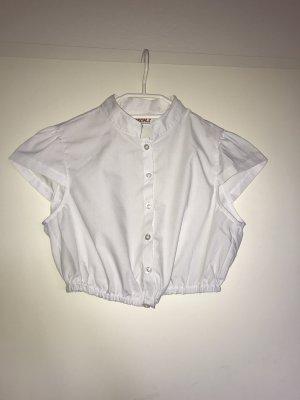 Fuchs Trachtenmoden Folkloristische blouse wit