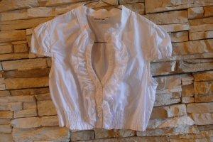Melega Folkloristische blouse wit