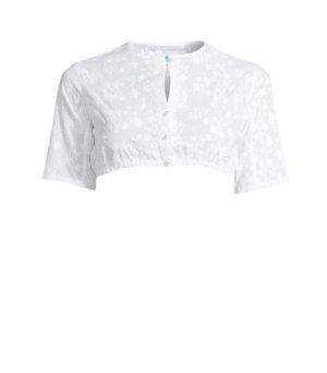 Trachtenmanufaktur München Blusa tradizionale bianco