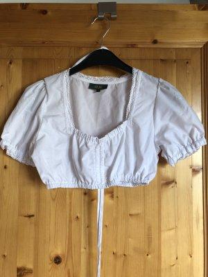 Wiesnkönig Blusa tradizionale bianco