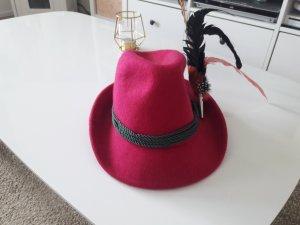 Felt Hat purple