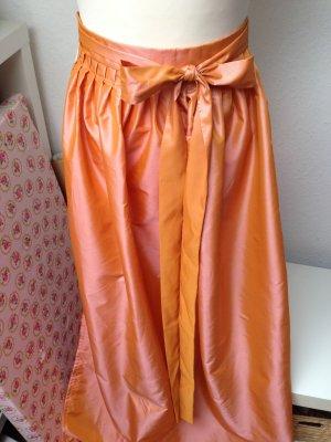 Dirndlschürze apricot orange