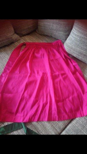 Delantal folclórico rosa