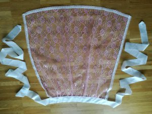 Traditional Apron pink
