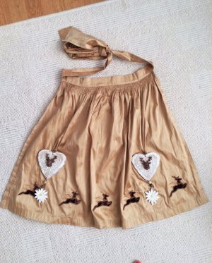 Traditional Apron sand brown