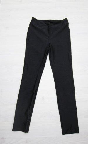Forever 21 Pantalón de cintura alta negro