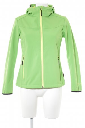 Disegna Outdoor Jacket neon green athletic style