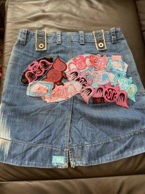 Diesel Denim Skirt multicolored