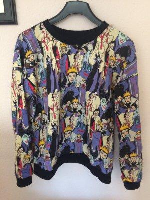 Jersey de cuello redondo multicolor Algodón