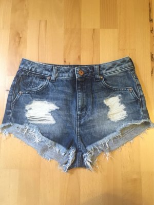 Disney Collection Jeanshotpant im Used-Look