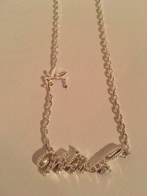 Disney Collar color plata
