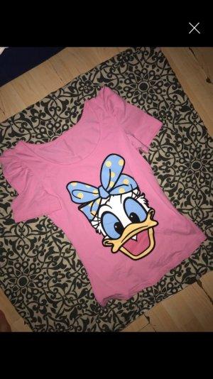 Disney Daisy tshirt rosa blau neu