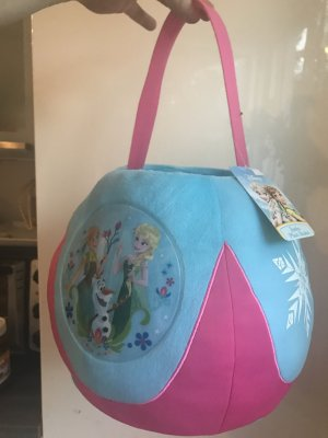 Disney Basket Bag baby blue-pink