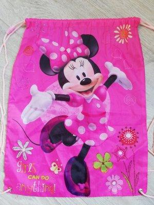 Disney Gymbag / Sportbeutel in pink mit Minnie Maus-Aufdruck
