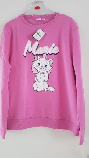 Disney Kollektion Sweatshirt Aristocats Marie in Pink Gr. M