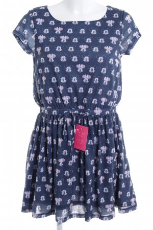 Disney Kurzarmkleid Comicmuster Casual-Look