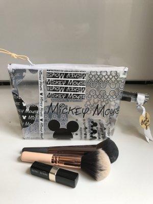 Disney Mickey Maus Tasche Kosmetiktasche Transparent Blogger Kosmetik