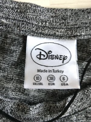 Disney Mickey Mouse Shirt in Größe 38