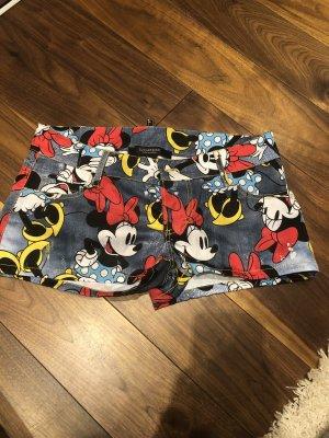 Pantalón corto multicolor