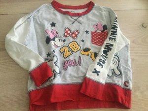 Disney Pulli Schlafshirt Homeshirt Sweatshirt mit Minnie Mouse Gr. M