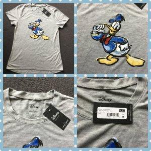 Disney Camiseta estampada gris claro-gris Algodón
