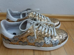 Disney Sneaker Gold Silber Mickey Mouse 39 Pailletten