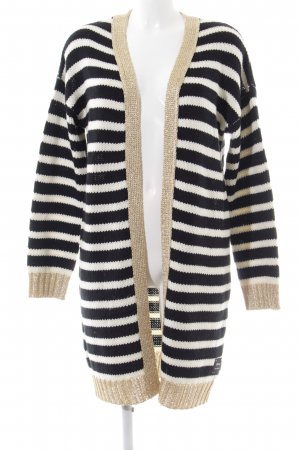 Disney Knitted Coat striped pattern casual look