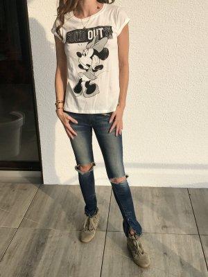 Disney T'shirt Minnie  Mouse Gr. Xs neu mit Etikett