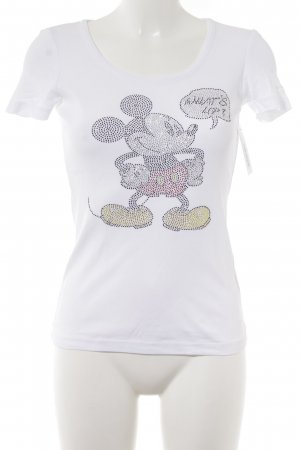 Disney T-Shirt weiß Street-Fashion-Look