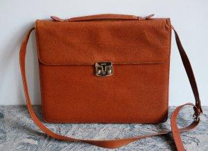 Disser Crossbody bag cognac-coloured leather
