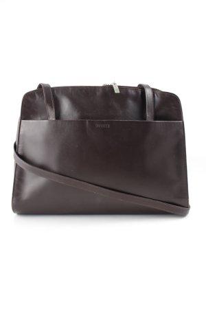 Disser Handtasche dunkelbraun klassischer Stil