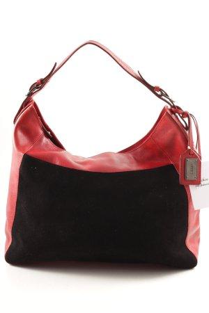 Disser Shopper schwarz-rot klassischer Stil